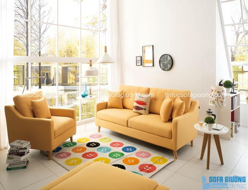 Sofa giường nhập khẩu cao cấp cho phòng khách