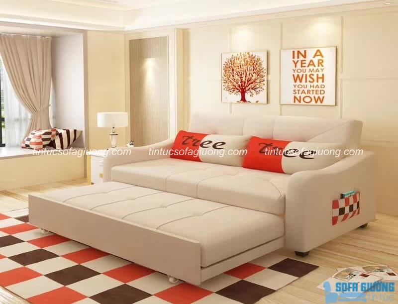Độc chiêu vệ sinh sofa giường chất liệu da đẹp bền nhất
