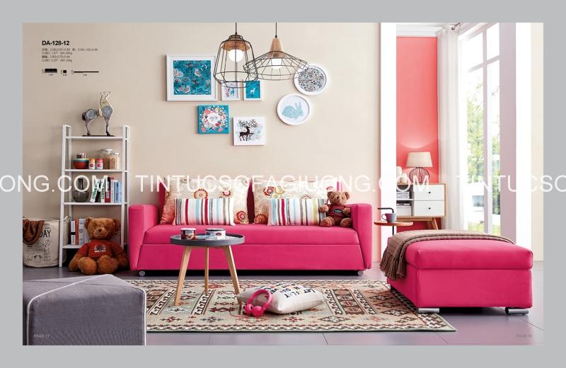 Chọn chất liệu sofa giường đẹp
