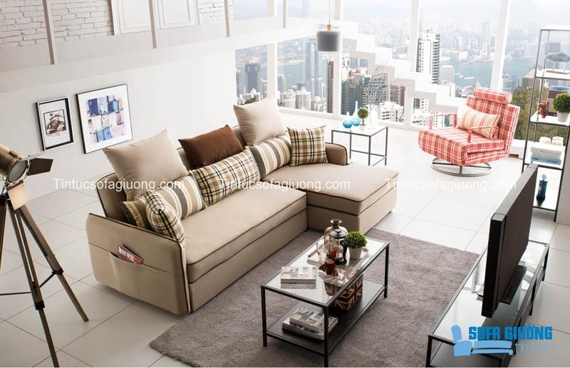 Phần khung ghế đóng vai trò quyết định chất lượng mẫu sofa giường nhập khẩu