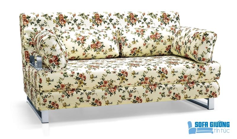 Hè nào cũng vậy, mẫu sofa giường nhập khẩu họa tiết hoa lên ngôi với vẻ đẹp thanh thoát và duyên dáng