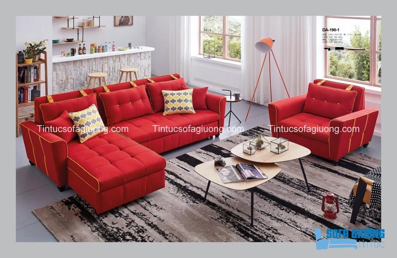 Với rất nhiều tính năng tiện ích, sofa giường đa năng hứa hẹn sẽ là một trợ thủ đắc lực trong phòng khách của bạn