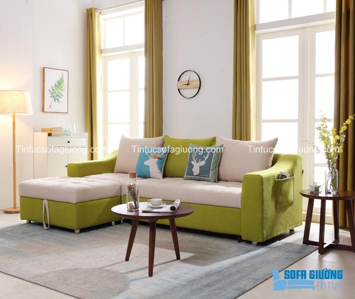 Lớp vải bọc có thể dễ dàng tháo lắp nên rất dễ vệ sinh cho ghế