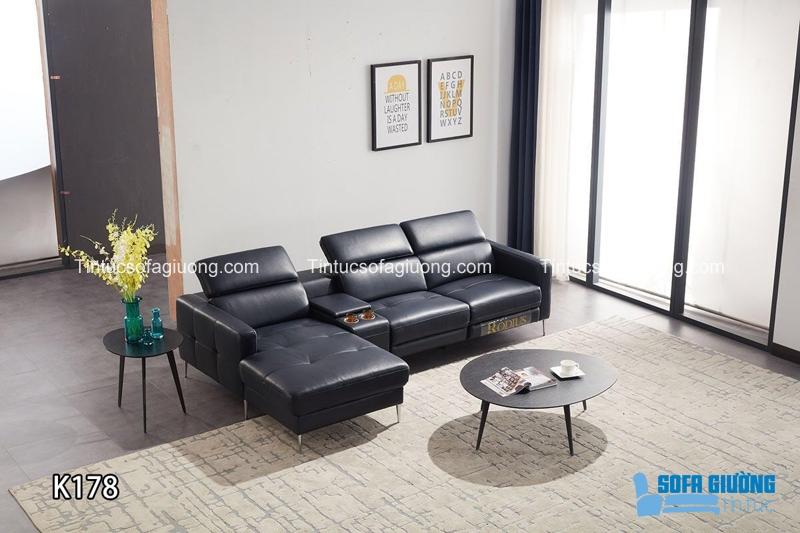 Sofa chất liệu da luôn là đẳng cấp khác biệt