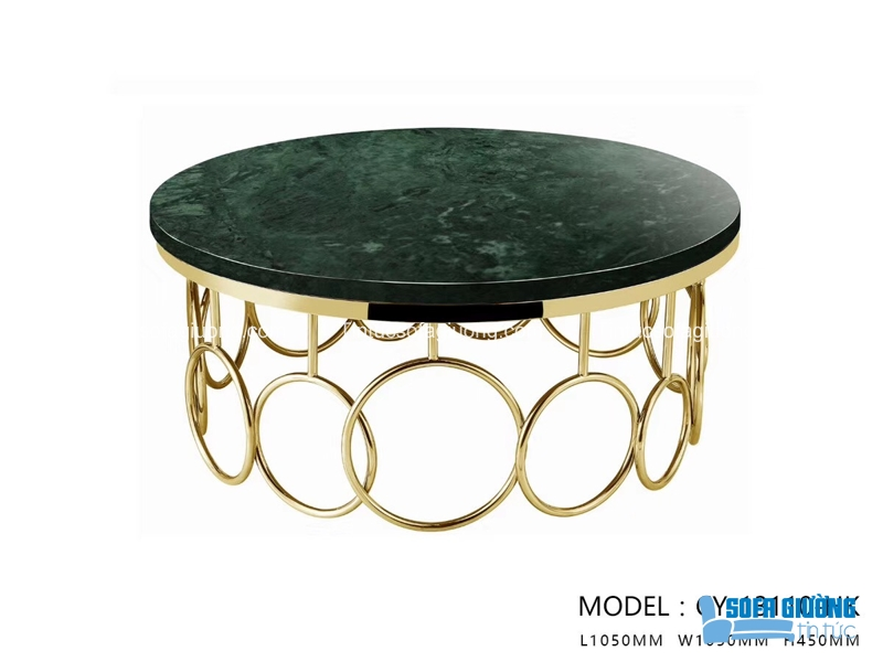 Sở hữu màu đen vàng đầy quý phái, chiếc bàn này sẽ mang đến một đẳng cấp tuyệt vời cho chủ nhà