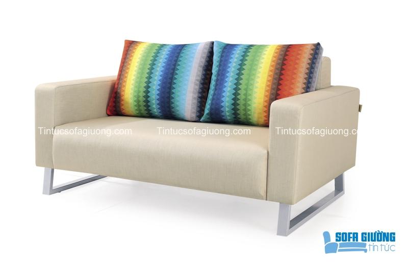 Ghế sofa có gối ôm hết sức bắt mắt và ấn tượng