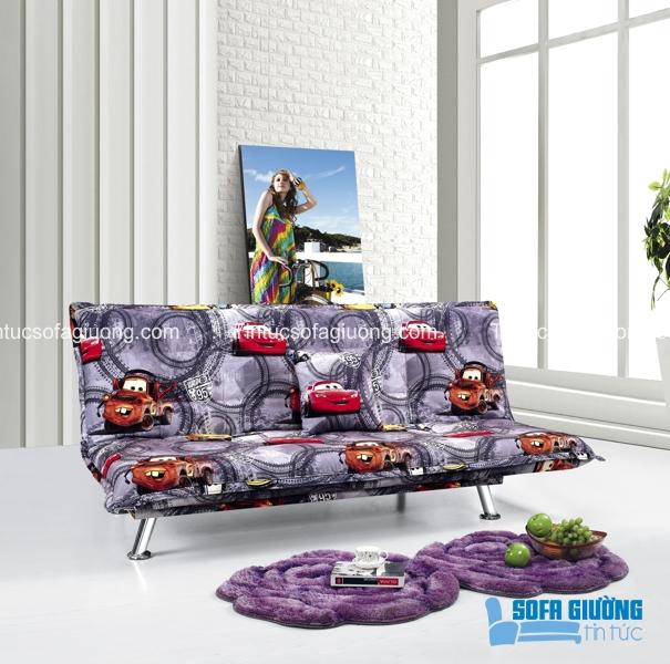 Hẳn là các bé sẽ rất thích chiếc ghế sofa giường này đấy
